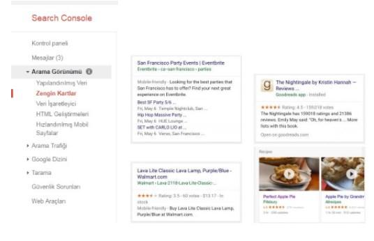 zengin kartlar - Google Search Console Nedir? Nasıl Kullanılır? [Kapsamlı Rehber]