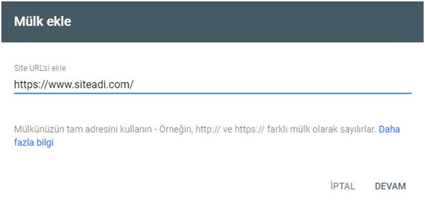 yeni google search console kullanim ozellikleri mulk ekle 1 - Yeni Google Search Console Kullanım Rehberi