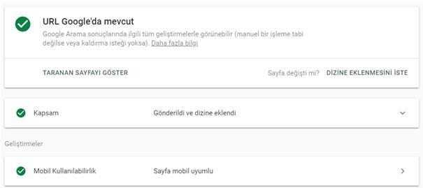 yeni google search console kullanim ozellikleri url denetimi - Yeni Google Search Console Kullanım Rehberi