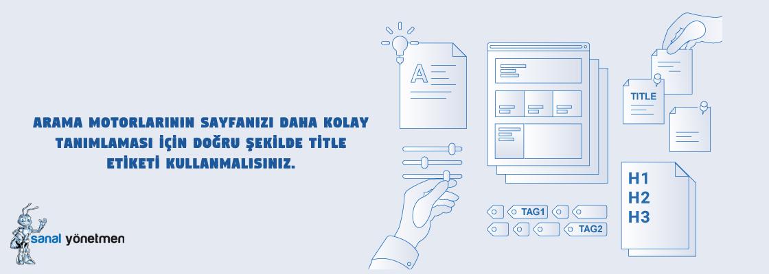 e ticaret site ici seo onerileri title etiketi - E-Ticaret Site İçi SEO Önerileri