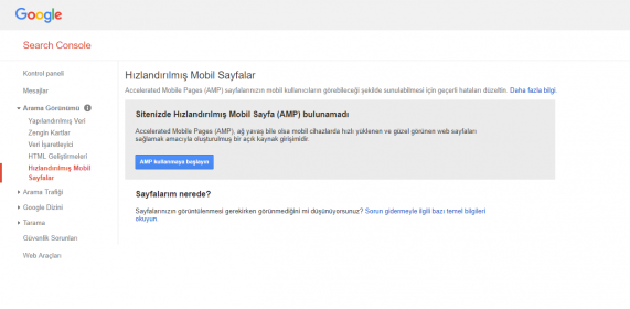 google search amp ayarlari 571x280 - Mobil SEO ve Wordpress AMP Kurulumu
