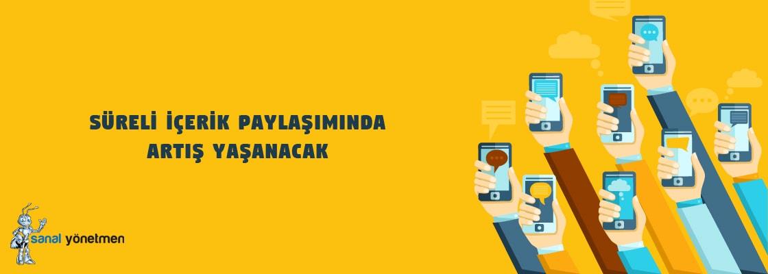 sureli icerik paylasiminda artis yasanacak - 2017 Dijital Pazarlama Teknikleri